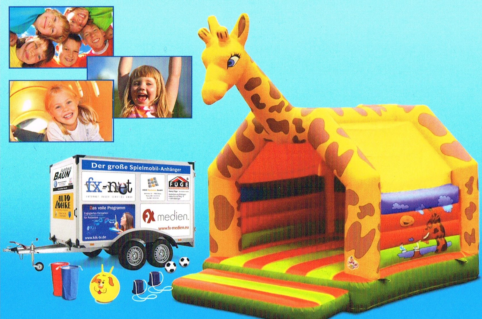 Klimavida GmbH unterstützt Kinderspielefarbik